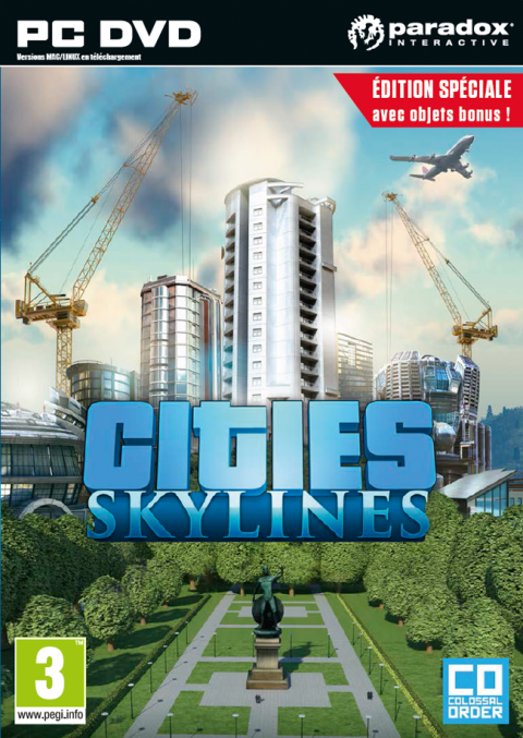 Jaquette de Cities Skylines