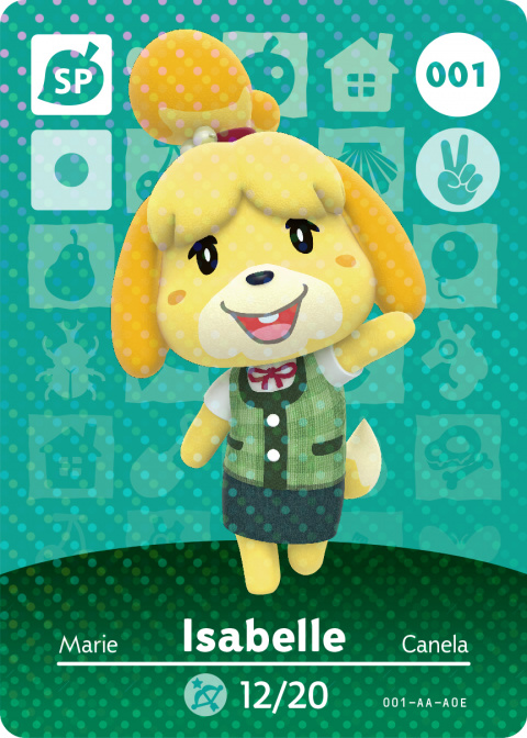 Animal Crossing : Happy Home Designer testera les cartes Amiibo