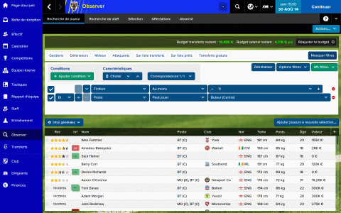 Football Manager Classic 2015 disponible sur tablettes iOS et Android