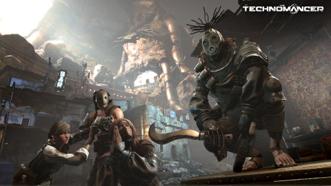 Deux images pour The Technomancer, le RPG martien de Spiders