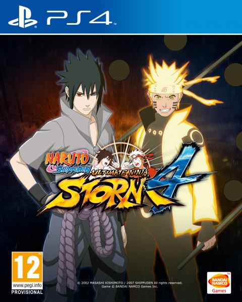 Naruto Shippuden Ultimate Ninja Storm 4 sur PS4