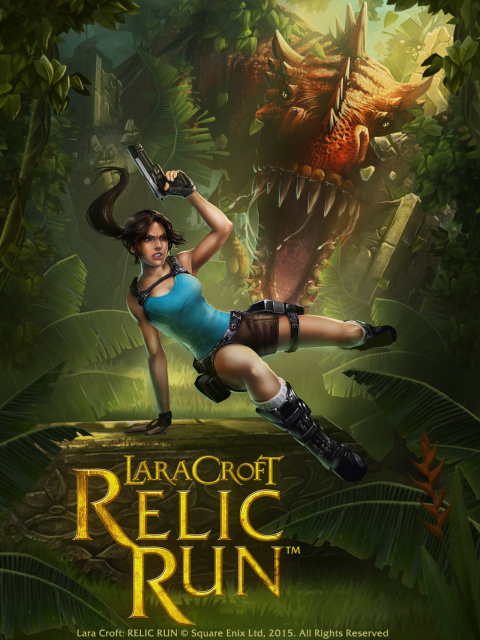 Lara Croft : Relic Run sur iOS