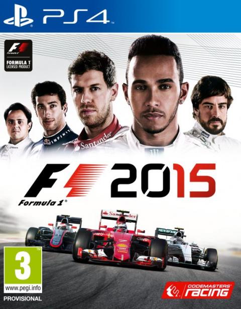 F1 2015 sur PS4