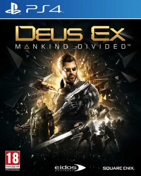 Deus Ex : Mankind Divided sur PS4