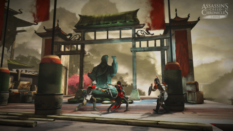 Jaquette de Assassin's Creed Chronicles : China, fuyez les flammes