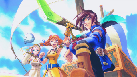 Jaquette de Oldies : Retour sur Skies of Arcadia