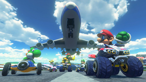 Jaquette de Week-end Mario Kart 8 sur Gaming Live