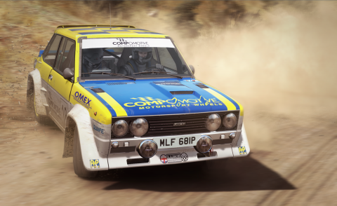Jaquette de DiRT Rally disponible sur Steam