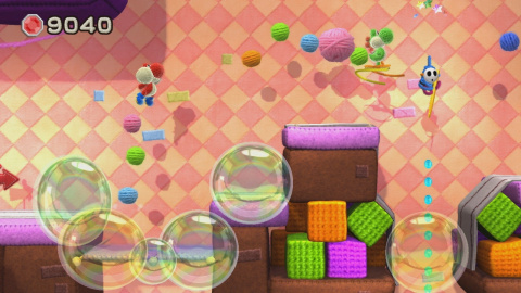 De nouvelles images de Yoshi's Woolly World