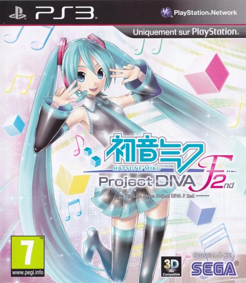 Hatsune Miku : Project Diva F 2nd sur PS3