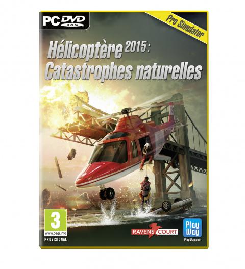 Hélicoptère 2015 : Catastrophes naturelles sur PC