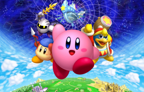 Jaquette de Marathon Kirby sur Gaming Live ce week-end