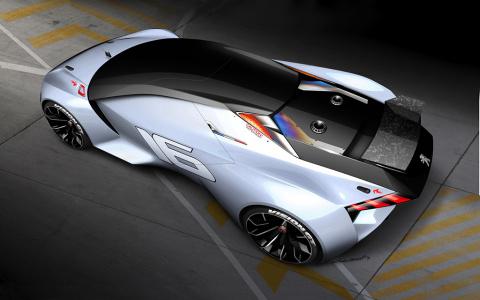La Peugeot Vision débarque dans Gran Turismo 6