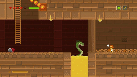 Elliot Quest : L'hommage rétro à Zelda II et Kid Icarus