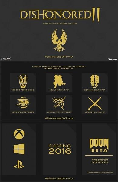 E3 2015 : Dishonored 2 aux abonnés absents ?