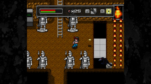 High Strangeness: Cet action-RPG indé qui erre entre 8 et 16-bits