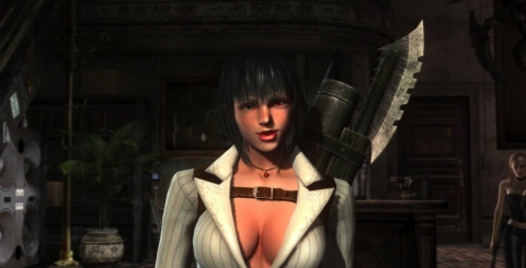 Jaquette de Devil May Cry 4 : Special Edition présente Lady