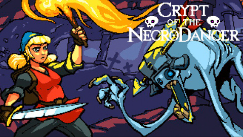 Jaquette de Crypt of the NecroDancer : Le plus groovy des Rogue-like impose sa rythmique ! sur PC