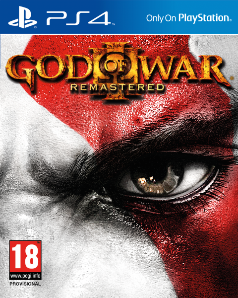 Jaquette de God of War III Remastered