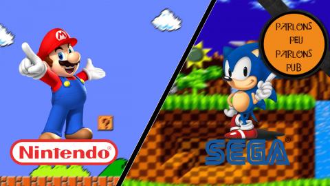 Parlons Peu Parlons Pub - La guerre publicitaire entre Sega et Nintendo