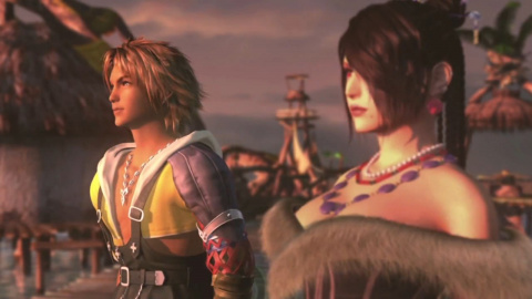 Jaquette de Final Fantasy X / X-2 HD, la double ration sur PS4