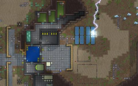 Rimworld, la nouvelle mise à jour alpha 12