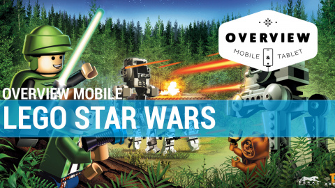 Jaquette de Overview Mobile : LEGO Star Wars : La Saga Complète