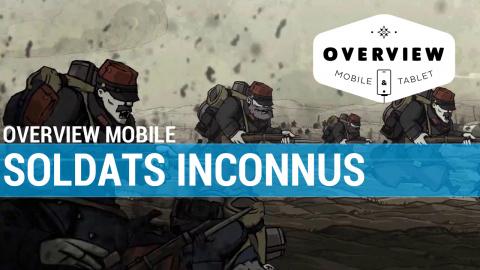Jaquette de Overview Mobile : Soldats Inconnus