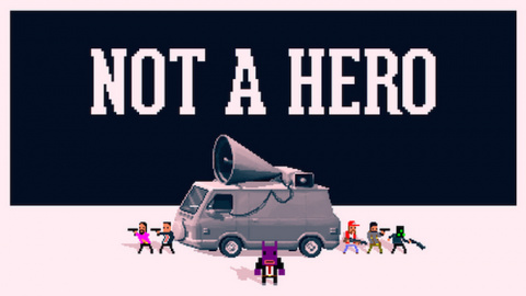 Jaquette de Not A Hero : Eliminer le crime par la force