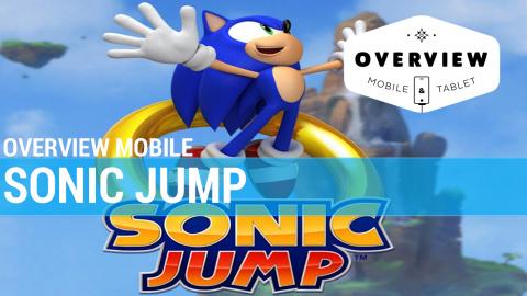 Jaquette de Overview Mobile : Sonic Jump