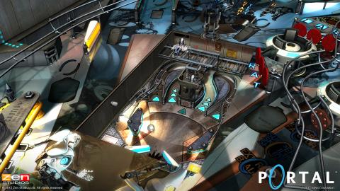 Pinball FX 2 accueille Portal