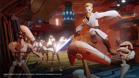 Disney Infinity 3.0 - Pack Star Wars, les développeurs boostent les Jedi !