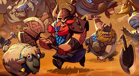 Jaquette de Swords & Soldiers II : STR et tower defense revisités à la sauce viking sur WiiU