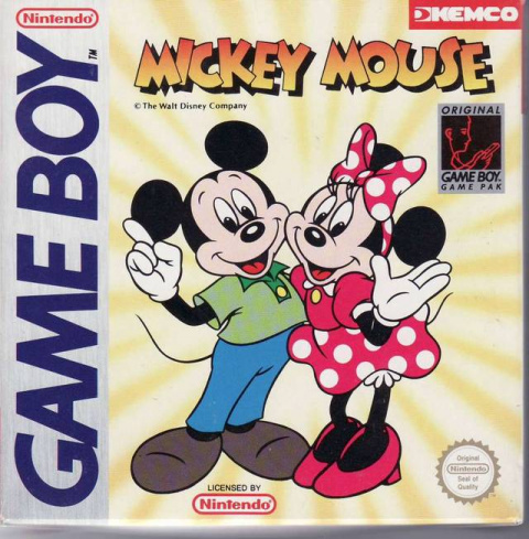 Mickey Mouse sur GB