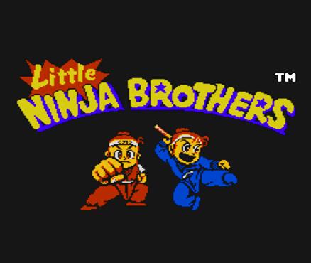 Little Ninja Brothers sur WiiU