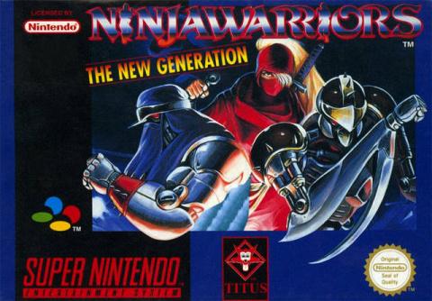 Ninja Warriors : The New Generation sur SNES
