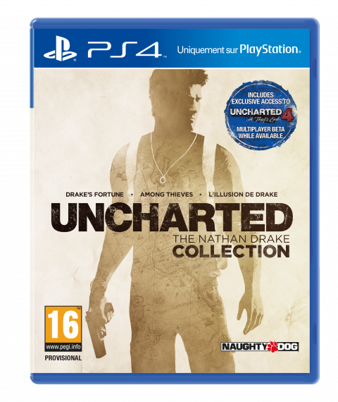 Jaquette de Uncharted : The Nathan Drake Collection