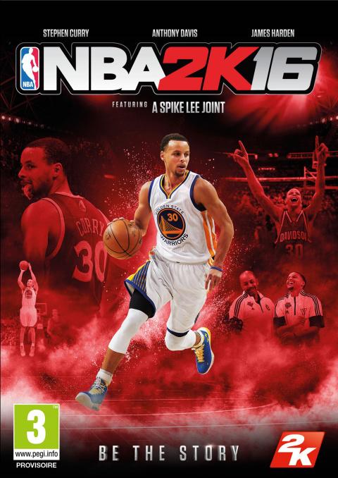 NBA 2K16 - Un scénario et des jaquettes