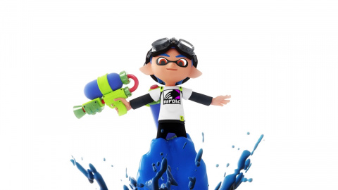 Jaquette de Splatoon : 1/3 - Le mode Turf War
