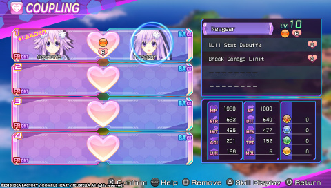 Du nouveau pour Hyperdimension Neptunia­ Re;Birth3: V Generation