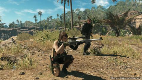Metal Gear Solid 5 gratuit pour l'achat d'une carte Nvidia
