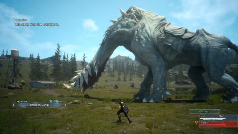 Final Fantasy XV Episode Duscae : La mise à jour se dévoile en images