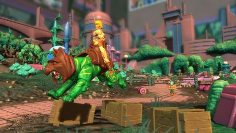 Musclor et GI Joe investissent Toy Soldiers : War Chest