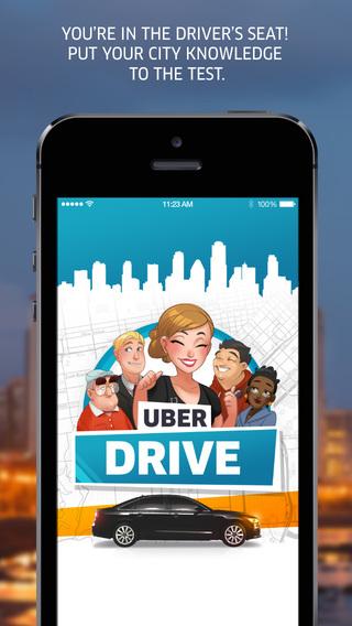 uberdrive uber recrute des chauffeurs avec un jeu mobile sur ios actualit s. Black Bedroom Furniture Sets. Home Design Ideas