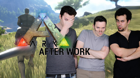 After Work - ARK : Survival Evolved - Episode 2 - La chevauchée préhistorique !