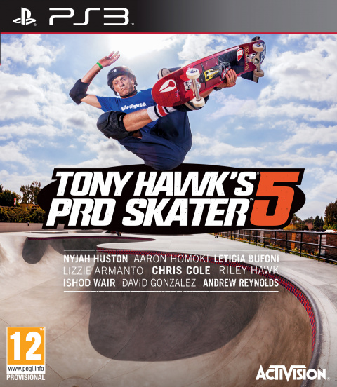 Tony Hawk's Pro Skater 5 sur PS3