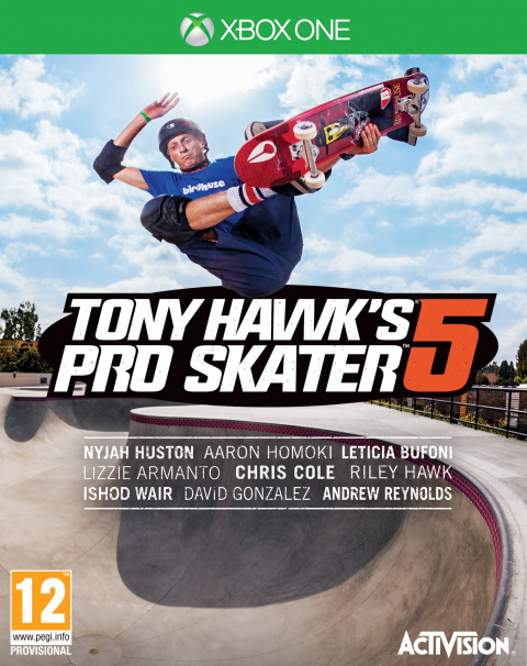 Tony Hawk's Pro Skater 5 sur ONE