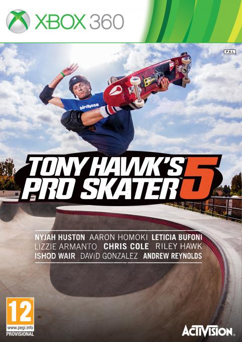Tony Hawk's Pro Skater 5 sur 360