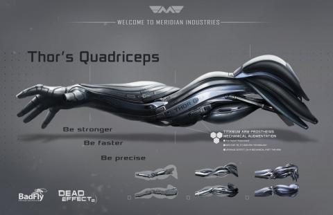 E3 2015 : Des artworks pour Dead Effect 2
