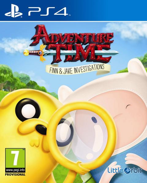 Adventure Time : Finn Et Jake Mènent L'enquête sur PS4